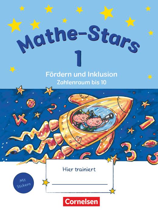 Mathe-Stars - Zahlenraum bis 10 - Übungsheft - 1. Schuljahr