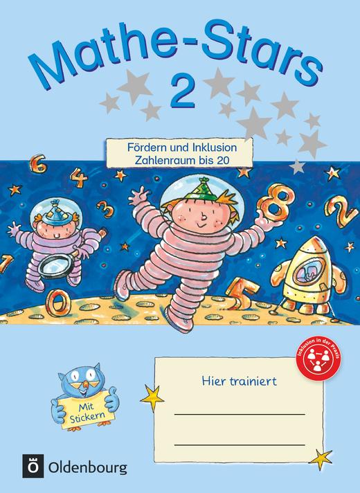 Mathe-Stars - Zahlenraum bis 20 - Übungsheft - 2. Schuljahr