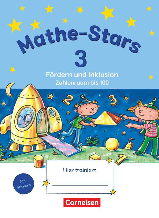 Mathe-Stars - Zahlenraum bis 100 - Übungsheft - 3. Schuljahr