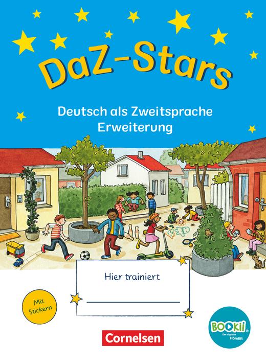 DaZ-Stars - Deutsch als Zweitsprache - Erweiterung - Übungsheft