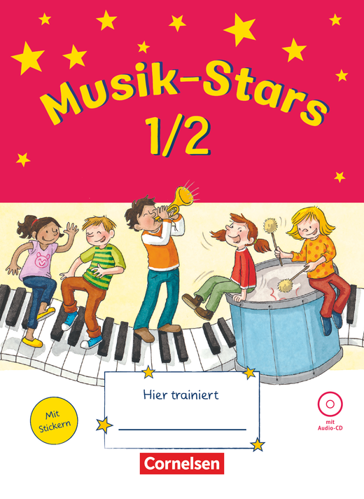 Musik-Stars - Übungsheft mit Lösungen und Audio-CD - 1./2. Schuljahr