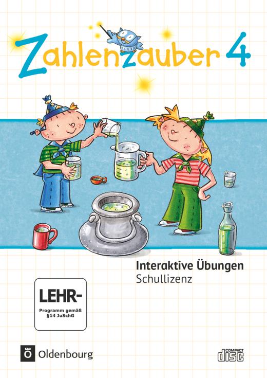 Zahlenzauber - Interaktive Übungen als Ergänzung zum Arbeitsheft - 4. Schuljahr