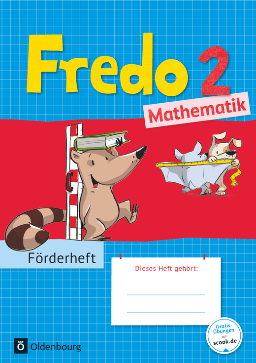 Fredo - Mathematik - Förderheft - 2. Schuljahr