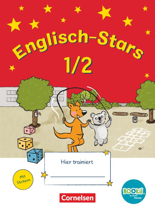 Englisch-Stars - Übungsheft - 1./2. Schuljahr