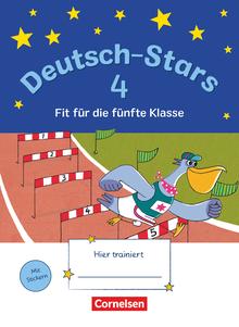Deutsch-Stars - Fit für die 5. Klasse - Übungsheft - 4. Schuljahr