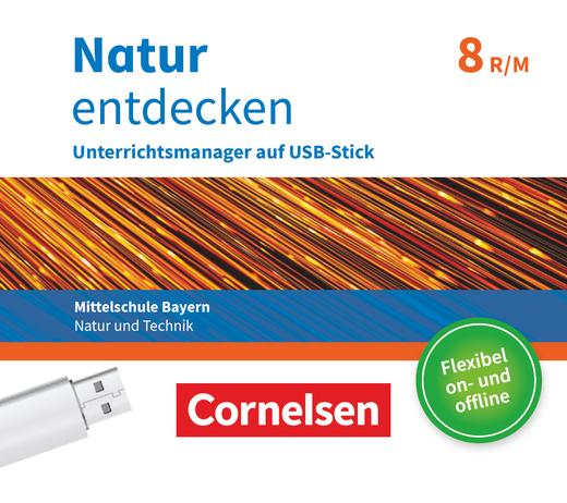 Natur entdecken - Neubearbeitung - Unterrichtsmanager Plus auf USB-Stick - 8. Jahrgangsstufe