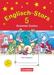 Englisch-Stars - Übungsheft Grammar Comics - 5. Schuljahr