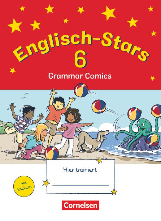 Englisch-Stars - Übungsheft Grammar Comics - 6. Schuljahr