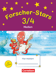Forscher-Stars - Medien - Übungsheft - 3./4. Schuljahr