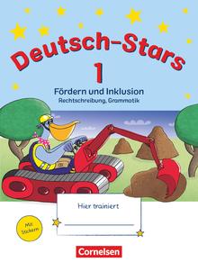 Deutsch-Stars - Fördern und Inklusion - Übungsheft - 1. Schuljahr