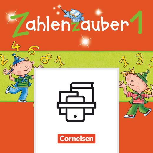 Zahlenzauber - Zwanzigerfeld mit Wendeplättchen - Schüler-Materialien - 1. Schuljahr