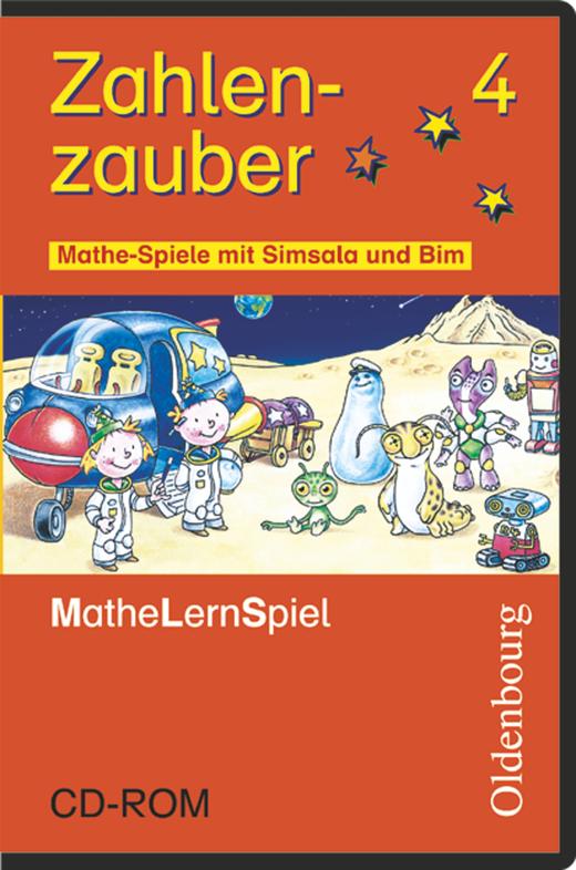 Zahlenzauber - Mathe-Spiele mit Simsala und Bim - Lernspiel-CD-ROM - 4. Schuljahr