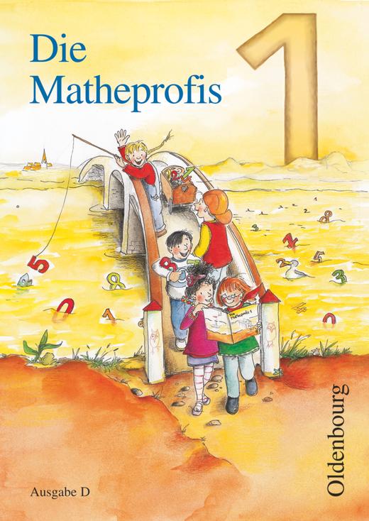 Die Matheprofis - Schülerbuch mit Kartonbeilagen - 1. Schuljahr