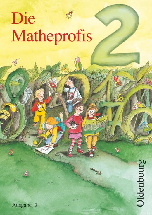 Die Matheprofis - Schülerbuch mit Kartonbeilagen - 2. Schuljahr