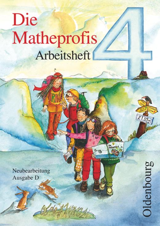 Die Matheprofis - Arbeitsheft - 4. Schuljahr