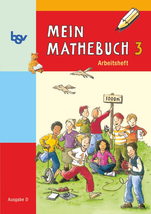 Mein Mathebuch - Arbeitsheft mit Kartonbeilagen - 3. Schuljahr