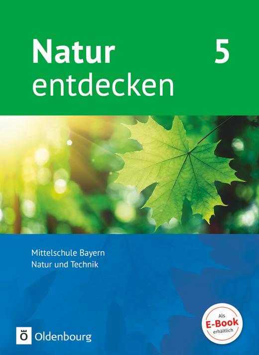 Natur entdecken - Neubearbeitung - Schülerbuch - 5. Jahrgangsstufe