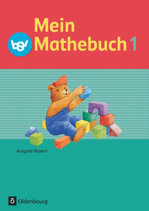 Mein Mathebuch - Schülerbuch mit Kartonbeilagen - 1. Jahrgangsstufe