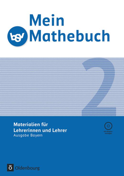 Mein Mathebuch - Lehrermaterialien mit CD-ROM - 2. Jahrgangsstufe