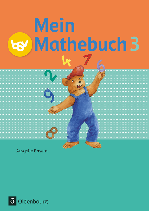 Mein Mathebuch - Schülerbuch mit Kartonbeilagen - 3. Jahrgangsstufe