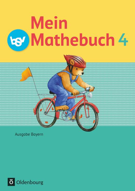 Mein Mathebuch - Schülerbuch mit Kartonbeilagen - 4. Jahrgangsstufe