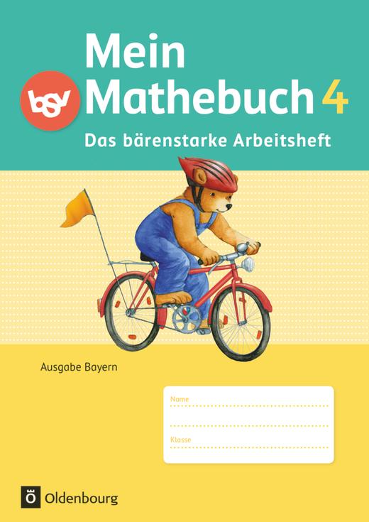 Mein Mathebuch - Das bärenstarke Arbeitsheft - Arbeitsheft mit Kartonbeilagen - 4. Jahrgangsstufe