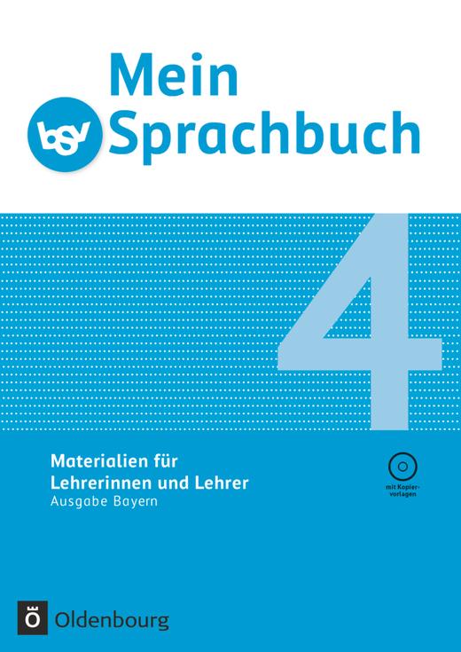 Mein Sprachbuch - Materialien für Lehrerinnen und Lehrer - Lehrermaterialien mit CD-ROM - 4. Jahrgangsstufe