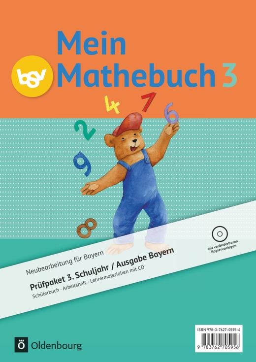 Mein Mathebuch - Produktpaket - 3. Jahrgangsstufe