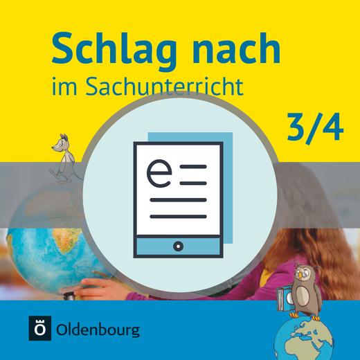 Schlag nach im Sachunterricht - Schülerbuch als E-Book - 3./4. Schuljahr