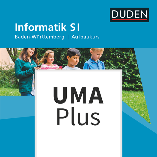Duden Informatik - Unterrichtsmanager Plus - mit Download für Offline-Nutzung - Aufbaukurs - 7. Schuljahr