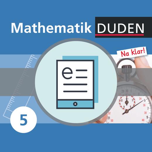 Mathematik Na klar! - Schülerbuch als E-Book - 5. Schuljahr