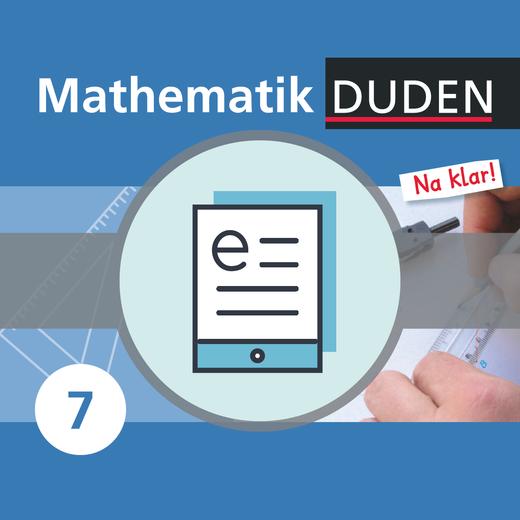 Mathematik Na klar! - Schülerbuch als E-Book - 7. Schuljahr