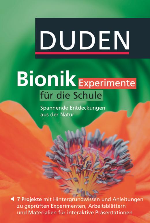 Duden Bionik - Experimente für die Schule - Spannende Entdeckungen aus der Natur - DVD-ROM - 7.-10. Schuljahr