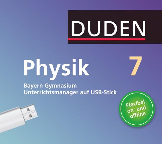 Duden Physik - Unterrichtsmanager Plus auf USB-Stick - 7. Jahrgangsstufe