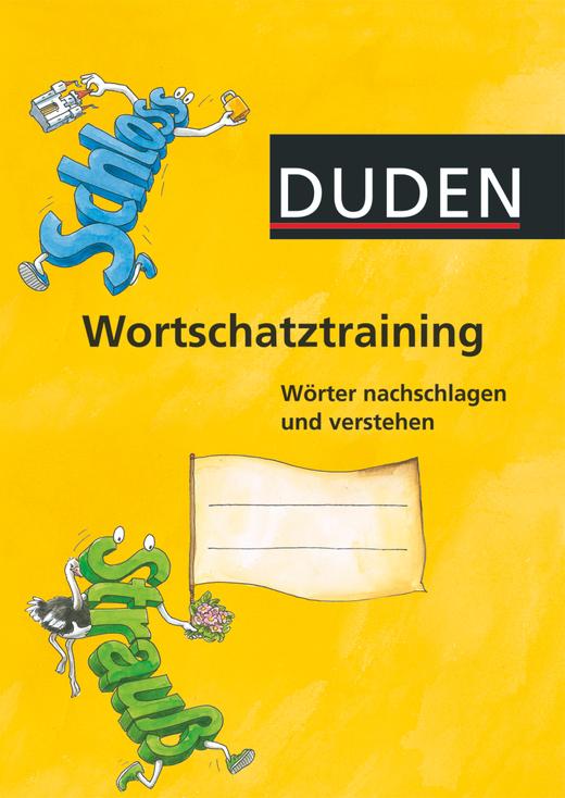 Wortschatztraining - Arbeitsheft
