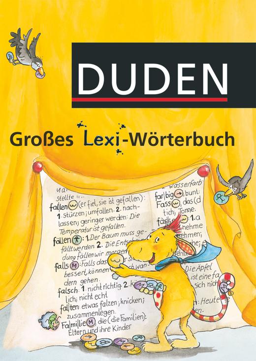 Großes Lexi-Wörterbuch - Wörterbuch - 1.-4. Schuljahr