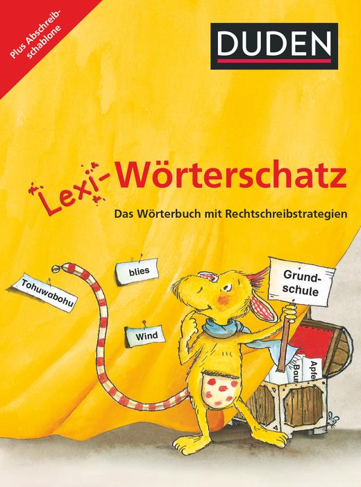 Lexi-Wörterschatz - Wörterbuch mit Abschreibschablone - 2.-4. Schuljahr