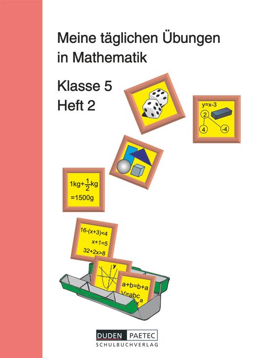 Meine täglichen Übungen in Mathematik - Arbeitsheft 2 - 5. Schuljahr