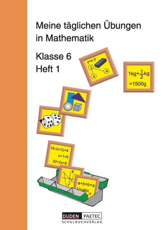 Meine täglichen Übungen in Mathematik - Arbeitsheft 1 - 6. Schuljahr