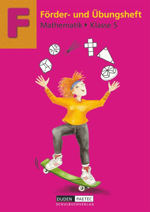 Förderhefte Mathematik - Übungsheft - 5. Schuljahr