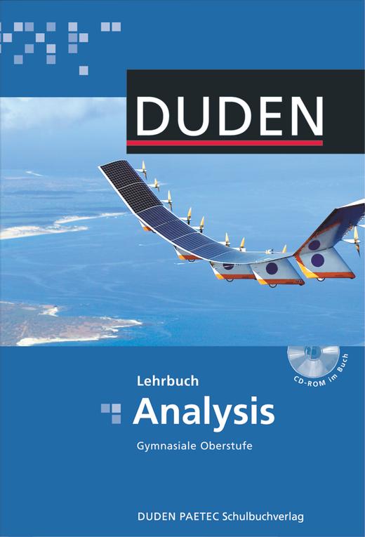 Duden Mathematik - Gymnasiale Oberstufe - Analysis - Schülerbuch mit CD-ROM