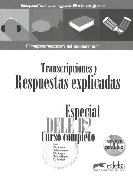 Especial Dele Curso completo - Lösungsschlüssel zum Übungsbuch - B2