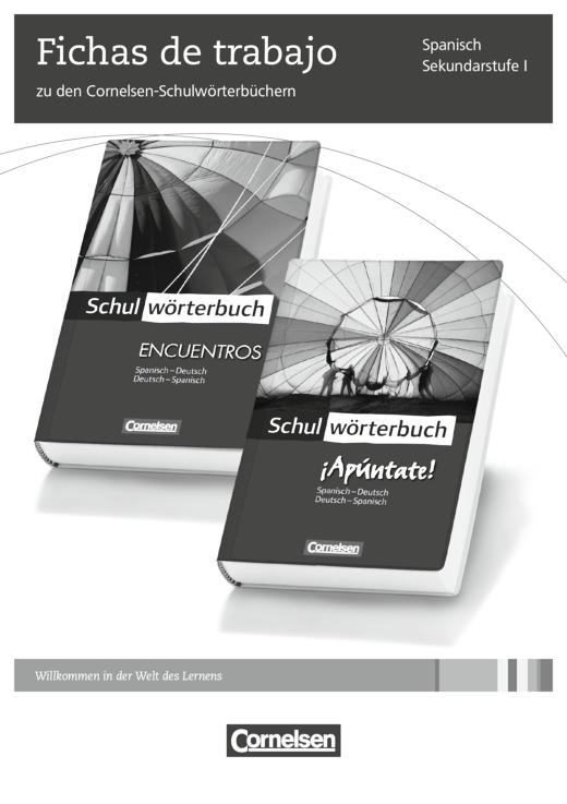 Fichas de trabajo zu den Cornelsen-Schulwörterbüchern - Arbeitsblatt ...