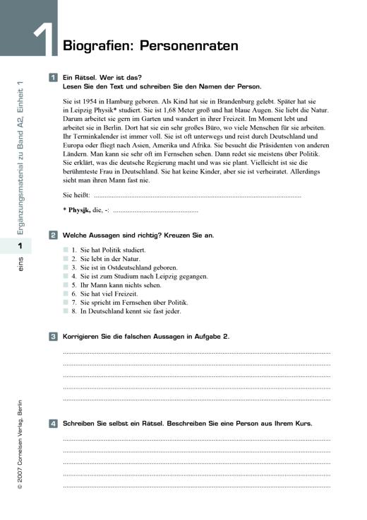 Contemporary Einheit 3 Arbeitsblatt 4 Physik Antworten Model - Mathe ...