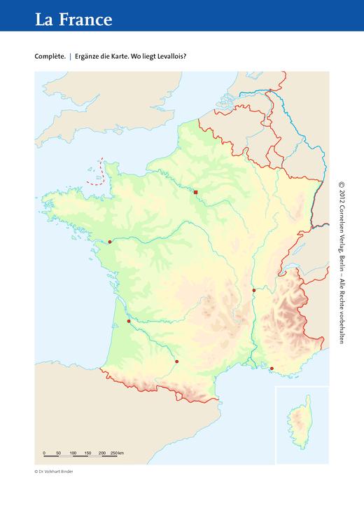 À toi ! 1A Schülerbuch – La France en direct (p. 10) - Arbeitsblatt ...