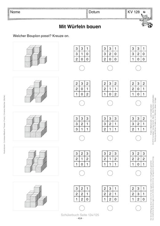 kopiervorlagen zum fredo prospekt 2016 arbeitsblatt cornelsen. Black Bedroom Furniture Sets. Home Design Ideas