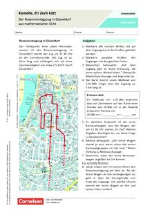 Karneval Und Fasching Arbeitsblatter Fur Klassen 3 8 Cornelsen