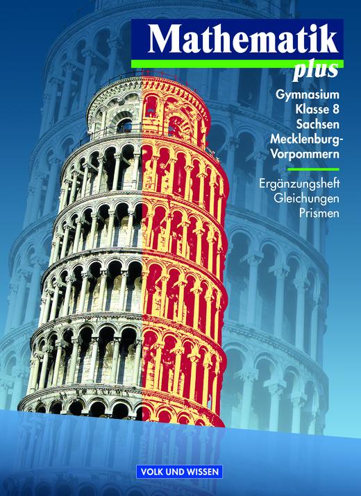 Mathematik Plus: Ergänzungsheft Klasse 8 - Arbeitsblatt | Cornelsen