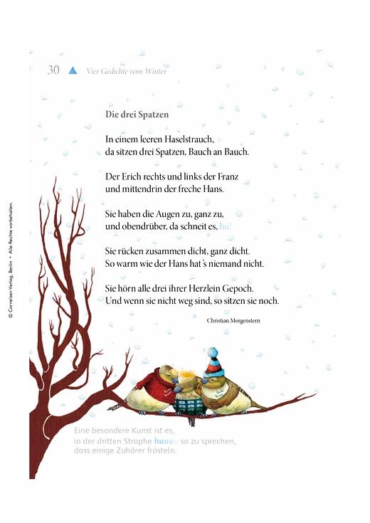 Gedichte - Arbeitsblatt | Cornelsen