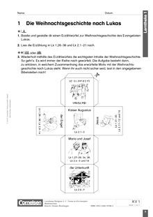 Weihnachten Unterrichtsmaterial Deutsch | Cornelsen
